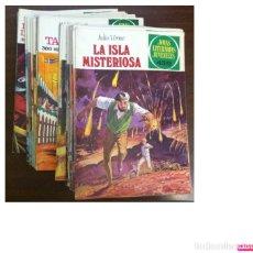 Tebeos: JOYAS LITERARIAS JUVENILES, BRUGUERA - COMICS - 46 EJEMPLARES, VER RELACIÓN NÚMEROS, AÑOS 1975-1979. Lote 190082948