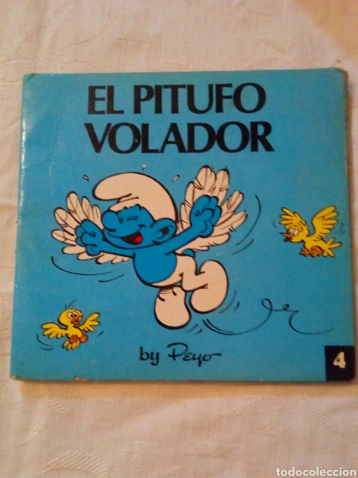 PRIMERA EDICIÓN EL PITUFO VOLADOR BY PEYO EDITORIAL BRUGUERA (Tebeos y Comics - Bruguera - Otros)