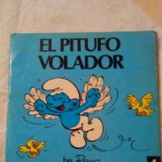 Tebeos: PRIMERA EDICIÓN EL PITUFO VOLADOR BY PEYO EDITORIAL BRUGUERA. Lote 190088946