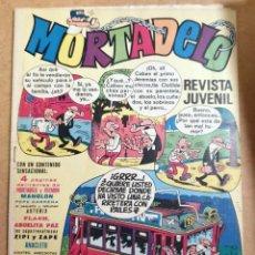 Tebeos: MORTADELO AÑO II Nº 8 BRUGUERA 1971 TENIENTE BLUEBERRY, CORSARIO DE HIERRO TEBENI.. Lote 190192101