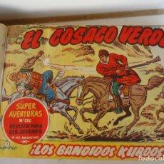 Tebeos: COSACO VERDE ORIGINAL. Lote 190312733