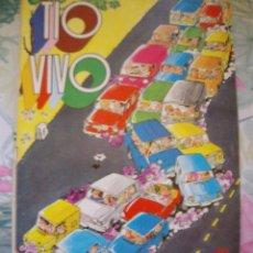 Tebeos: TIO VIVO EXTRA DE PRIMAVERA AÑO 1975 CON 98 PAGINAS. Lote 190337500