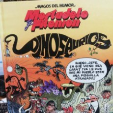 Tebeos: MORTADELO Y FILEMON. DINOSAURIOS. MAGOS DEL HUMOR N. 52. Lote 190361465