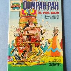 Tebeos: OUMPAH-PAH - EL PIEL ROJA - DE UDERZO Y GOSCINNY DREADORES DE ASTERIX - SUPER BRAVO - Nº 2. Lote 190362455