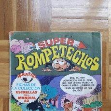 Tebeos: SUPER ROMPETECHOS. MUNDIAL 82. Nº 20. 1982. HUG EL TROGLODITA. PITAGORAS SLIM. LA PANDA. Lote 190395330