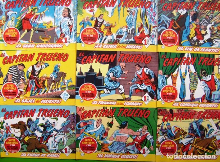 Tebeos: Lote de 18 numeros del Capitan trueno (del 169 al 186) - Foto 2 - 190483033