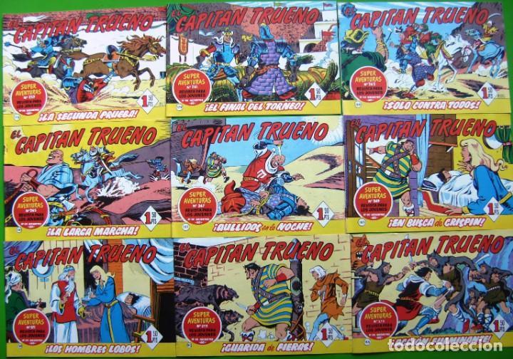 Tebeos: Lote de 18 numeros del Capitan trueno (del 169 al 186) - Foto 3 - 190483033