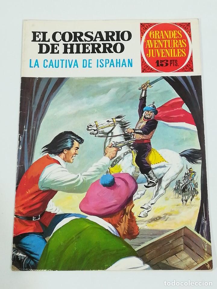 EL CORSARIO DE HIERRO GRANDES AVENTURAS JUVENILES NÚMERO 33 (Tebeos y Comics - Bruguera - Corsario de Hierro)