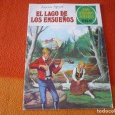 Livros de Banda Desenhada: JOYAS LITERARIAS JUVENILES Nº 175 EL LAGO DE LOS ENSUEÑOS 25 PTS 1977 1ª EDICION BRUGUERA. Lote 190540053