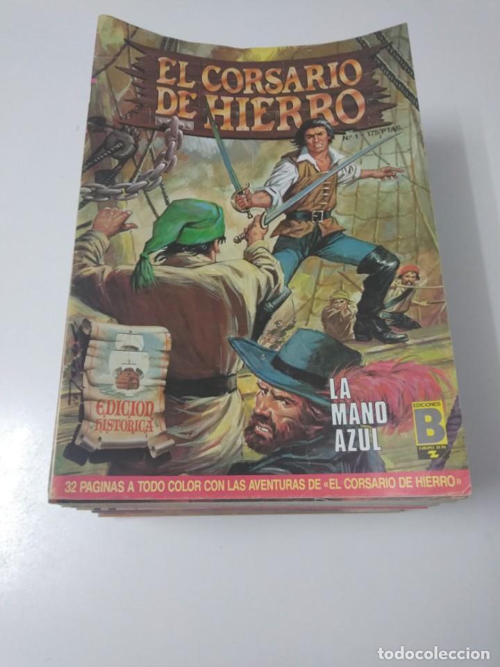 COLECCIÓN EL CORSARIO DE HIERRO EDICIÓN HISTÓRICA COMPLETA 58 NÚMEROS 1987-1990 (Tebeos y Comics - Bruguera - Corsario de Hierro)