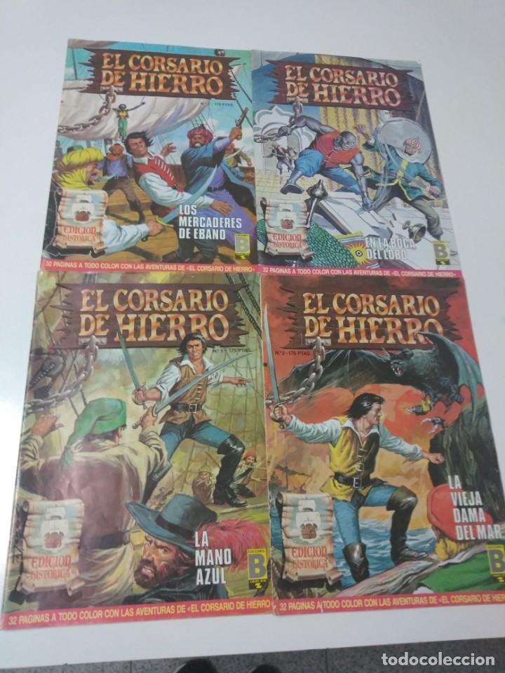 Tebeos: Colección El Corsario de Hierro Edición Histórica completa 58 números 1987-1990 - Foto 4 - 190547350