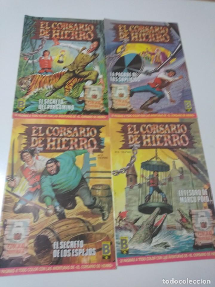 Tebeos: Colección El Corsario de Hierro Edición Histórica completa 58 números 1987-1990 - Foto 5 - 190547350