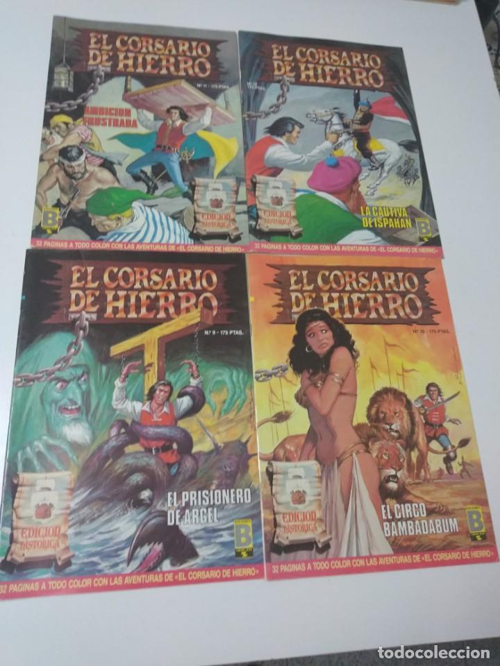 Tebeos: Colección El Corsario de Hierro Edición Histórica completa 58 números 1987-1990 - Foto 6 - 190547350