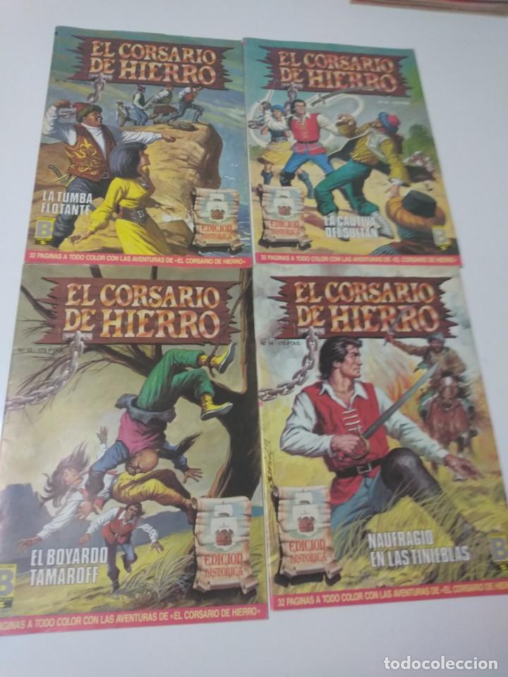 Tebeos: Colección El Corsario de Hierro Edición Histórica completa 58 números 1987-1990 - Foto 7 - 190547350