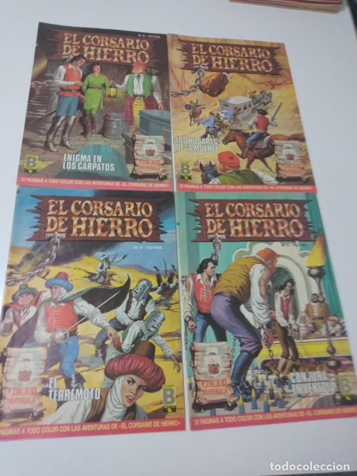 Tebeos: Colección El Corsario de Hierro Edición Histórica completa 58 números 1987-1990 - Foto 8 - 190547350