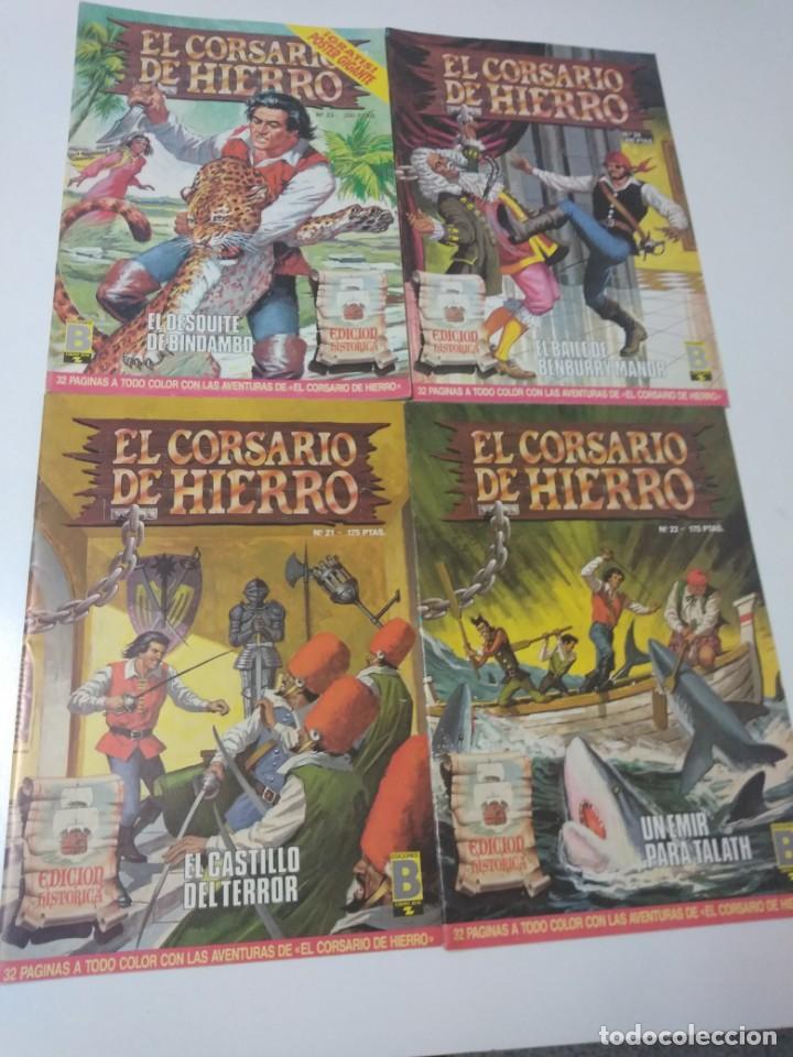 Tebeos: Colección El Corsario de Hierro Edición Histórica completa 58 números 1987-1990 - Foto 9 - 190547350