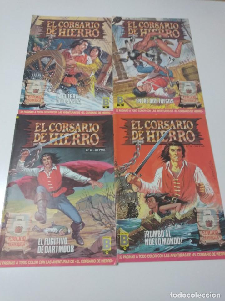 Tebeos: Colección El Corsario de Hierro Edición Histórica completa 58 números 1987-1990 - Foto 10 - 190547350