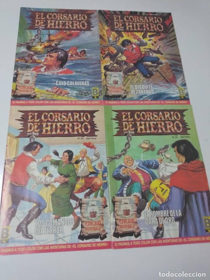 Tebeos: Colección El Corsario de Hierro Edición Histórica completa 58 números 1987-1990 - Foto 11 - 190547350