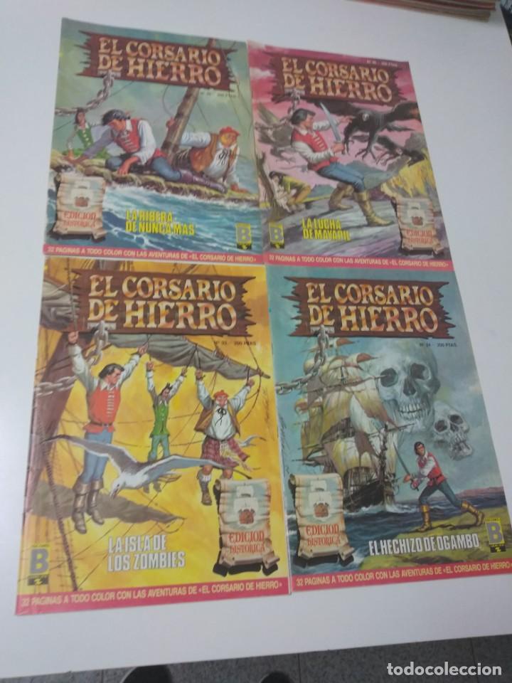 Tebeos: Colección El Corsario de Hierro Edición Histórica completa 58 números 1987-1990 - Foto 12 - 190547350