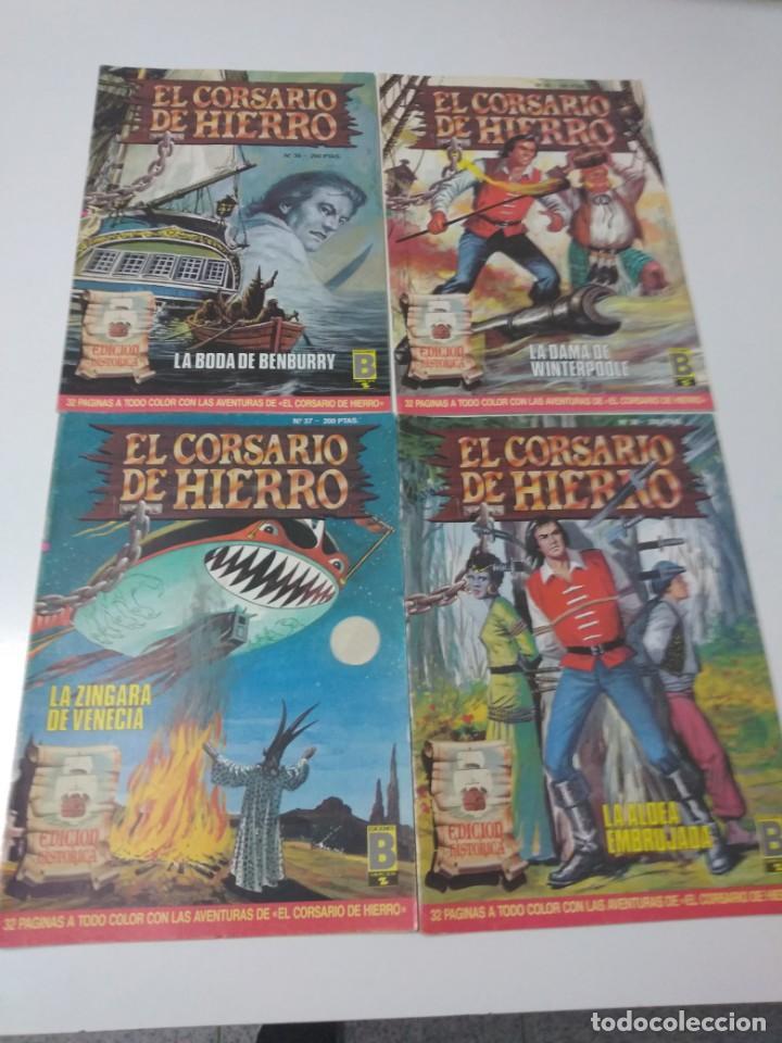 Tebeos: Colección El Corsario de Hierro Edición Histórica completa 58 números 1987-1990 - Foto 13 - 190547350