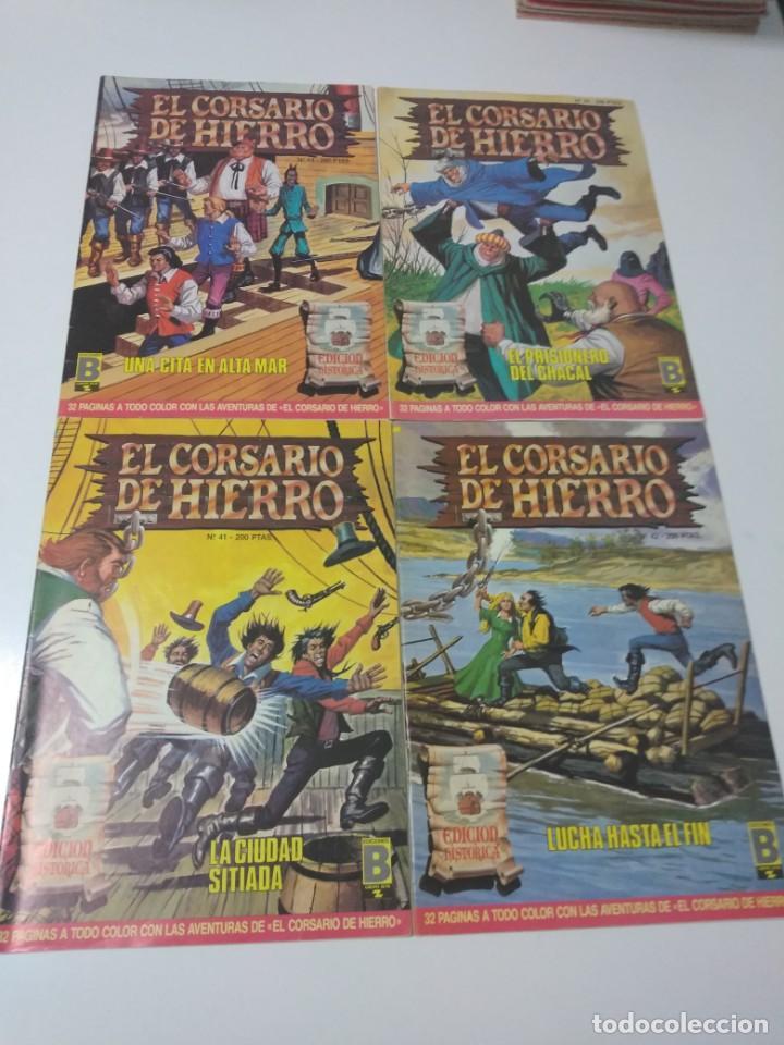Tebeos: Colección El Corsario de Hierro Edición Histórica completa 58 números 1987-1990 - Foto 14 - 190547350