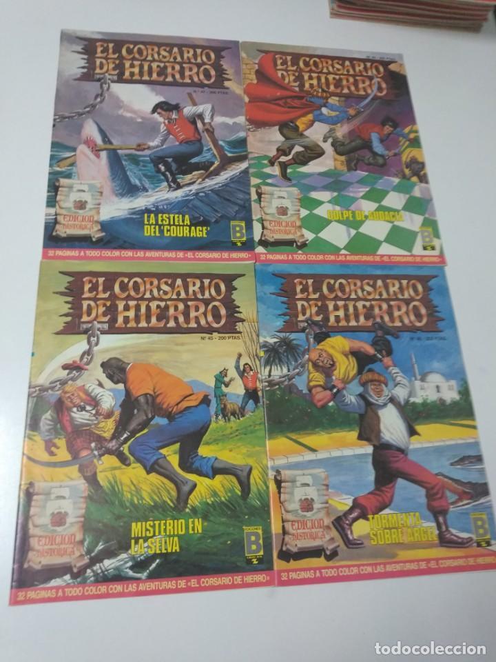 Tebeos: Colección El Corsario de Hierro Edición Histórica completa 58 números 1987-1990 - Foto 15 - 190547350