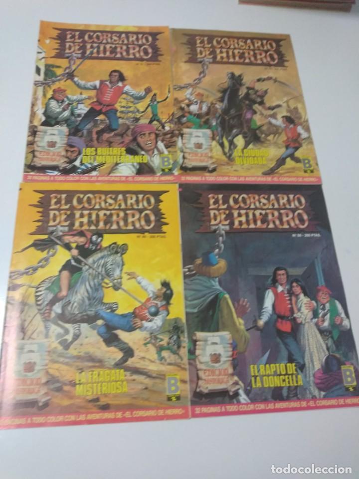 Tebeos: Colección El Corsario de Hierro Edición Histórica completa 58 números 1987-1990 - Foto 16 - 190547350