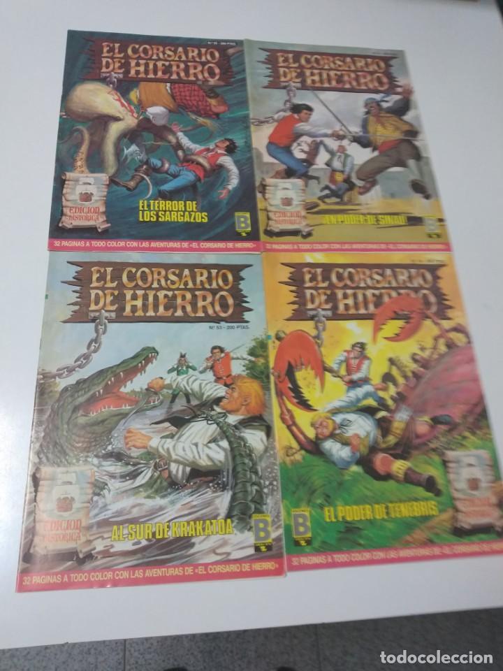 Tebeos: Colección El Corsario de Hierro Edición Histórica completa 58 números 1987-1990 - Foto 17 - 190547350