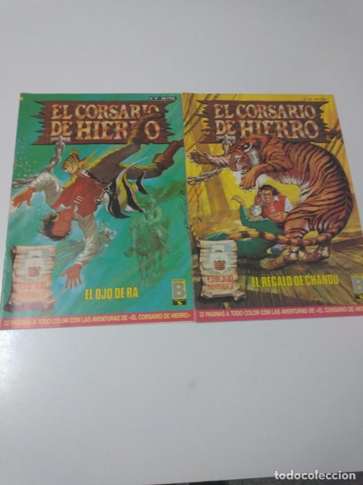 Tebeos: Colección El Corsario de Hierro Edición Histórica completa 58 números 1987-1990 - Foto 18 - 190547350