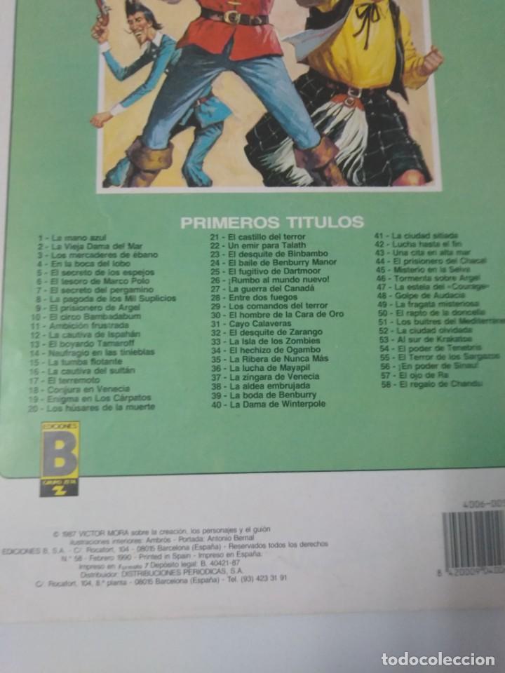 Tebeos: Colección El Corsario de Hierro Edición Histórica completa 58 números 1987-1990 - Foto 20 - 190547350