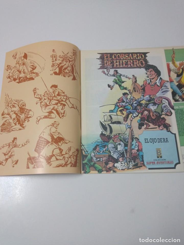 Tebeos: Colección El Corsario de Hierro Edición Histórica completa 58 números 1987-1990 - Foto 21 - 190547350