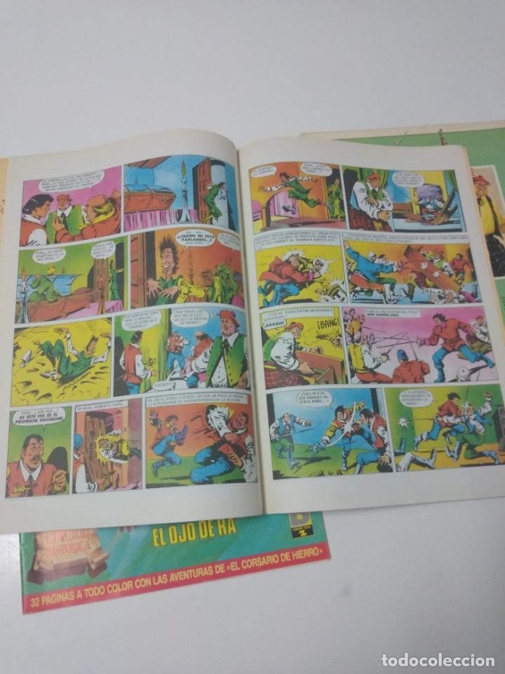 Tebeos: Colección El Corsario de Hierro Edición Histórica completa 58 números 1987-1990 - Foto 22 - 190547350