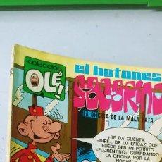 Tebeos: COLECCIÓN OLÉ N 62 EL BOTONES SACARINO 1ª EDICIÓN Nº LOMO BRUGUERA 1971. Lote 190550103