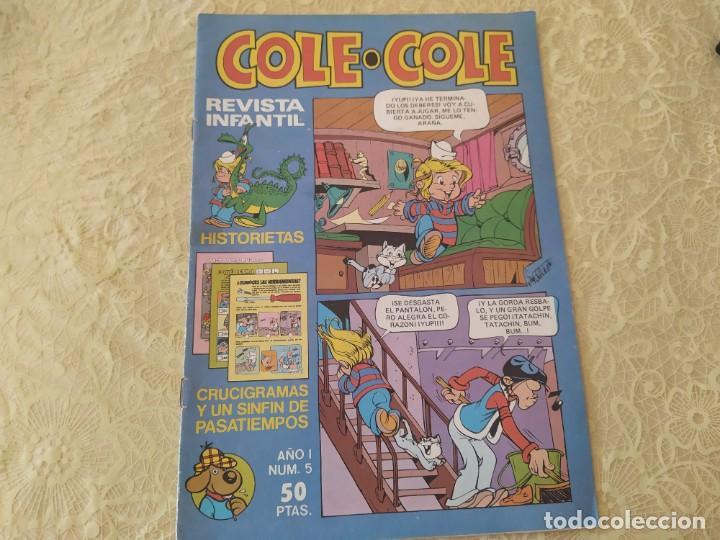 REVISTA INFANTIL COLE COLE NÚM. 5 AÑO 1983 EDITORIAL BRUGUERA (Tebeos y Comics - Bruguera - Otros)