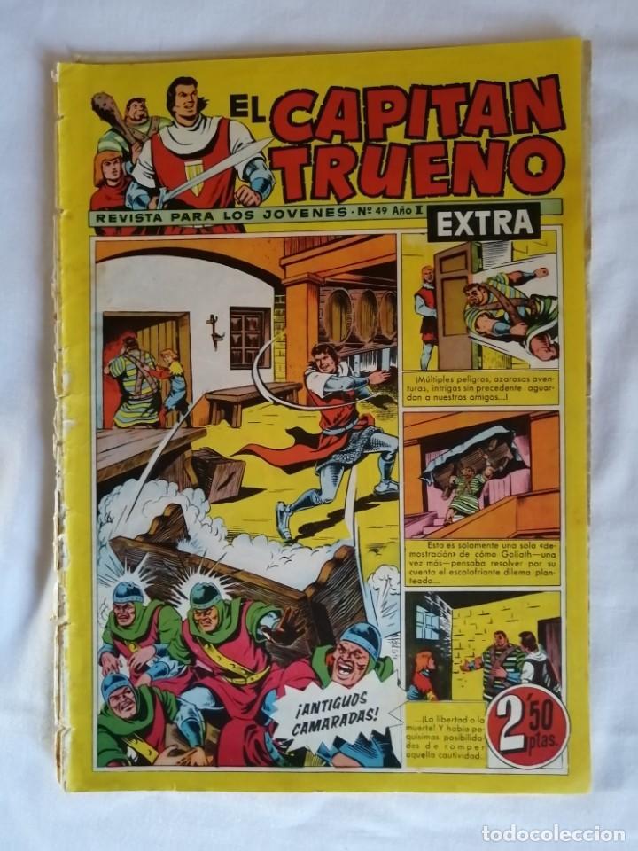 EL CAPITAN TRUENO EXTRA 49 (Tebeos y Comics - Bruguera - Capitán Trueno)