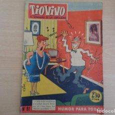 Tebeos: TIO VIVO Nº 81 AÑO III. EDITA BRUGUERA 1958. 2,50 PTAS. Lote 190618956