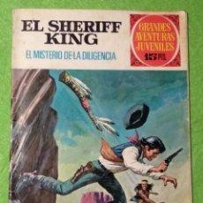 Tebeos: EL SHERIFF KING - EL MISTERIO DE LA DILIGENCIA - Nº42 - BRUGUERA 1973 - VER FOTOS. Lote 190631068