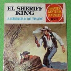 Tebeos: EL SHERIFF KING - LA HONDONADA DE LOS ESPECTROS - Nº48 - BRUGUERA 1973 - VER FOTOS. Lote 190632165