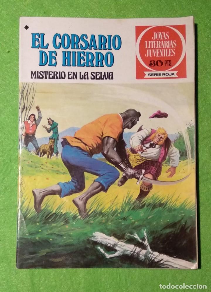 Tebeos: LOTE DE 6-JOYAS LITERARIAS JUVENILES-EL CORSARIO DE HIERRO-Nº4-48-43-41-42-15-VER TODAS LAS FOTOS - Foto 2 - 190636765