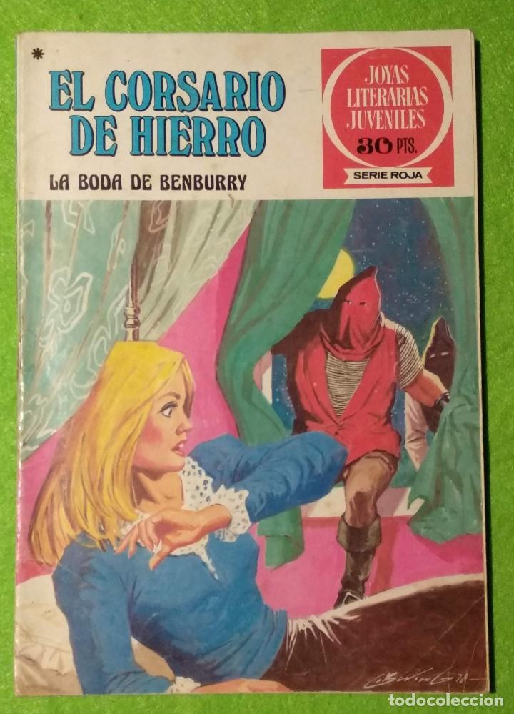 Tebeos: LOTE DE 6-JOYAS LITERARIAS JUVENILES-EL CORSARIO DE HIERRO-Nº4-48-43-41-42-15-VER TODAS LAS FOTOS - Foto 6 - 190636765