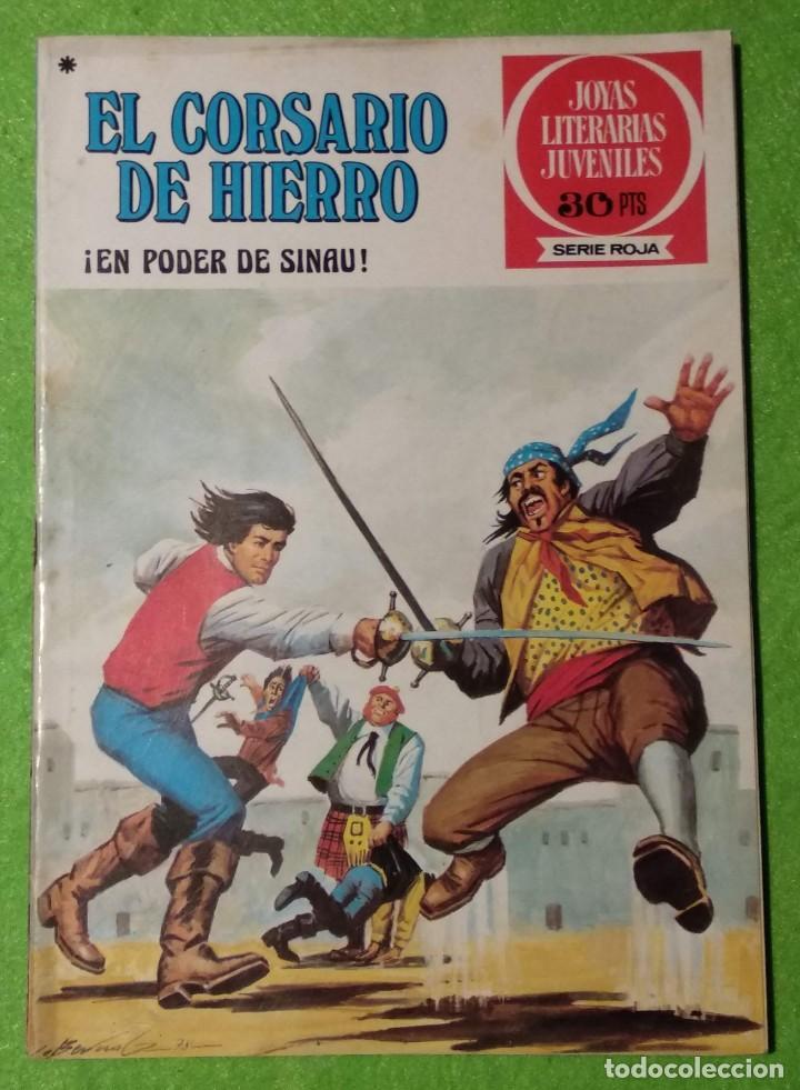 Tebeos: LOTE DE 6-JOYAS LITERARIAS JUVENILES-EL CORSARIO DE HIERRO-Nº4-48-43-41-42-15-VER TODAS LAS FOTOS - Foto 8 - 190636765