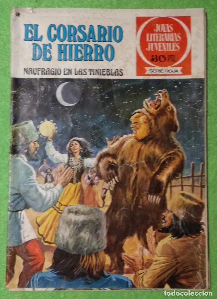 Tebeos: LOTE DE 6-JOYAS LITERARIAS JUVENILES-EL CORSARIO DE HIERRO-Nº4-48-43-41-42-15-VER TODAS LAS FOTOS - Foto 10 - 190636765