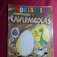 Tebeos: MORTADELO ESPECIAL CAVERNICOLAS. Nº 124. BRUGUERA. . Lote 190643792