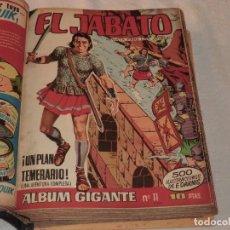 Tebeos: EL JABATO ALBUM GIGANTE, ENCUADERNADOS 37 EJEMPLARES 1965.. Lote 190688592