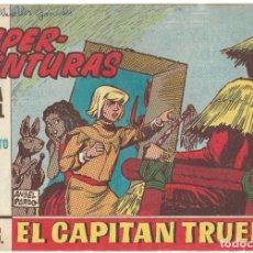 Tebeos: SUPER-AVENTURAS Nº 1111 - EL CAPITAN TRUENO Nº 577 - BUEN ESTADO. Lote 190737338