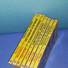 Tebeos: LOTE DE 7 TITULOS COLECCION CONGO DE EDITORIAL BRUGUERA PRIMERAS EDICIONES TODOS AÑOS 1955/56. Lote 190742472