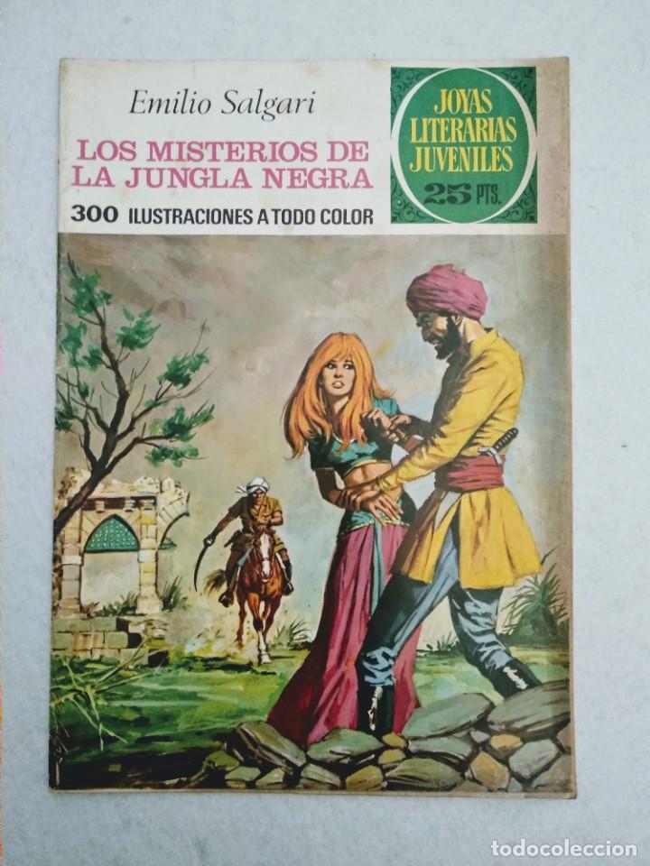 Tebeos: LOTE DE 14 JOYAS LITERARIAS JUVENILES TODOS DE EMILIO SALGARI - VER TODAS LAS FOTOS - Foto 2 - 190758951
