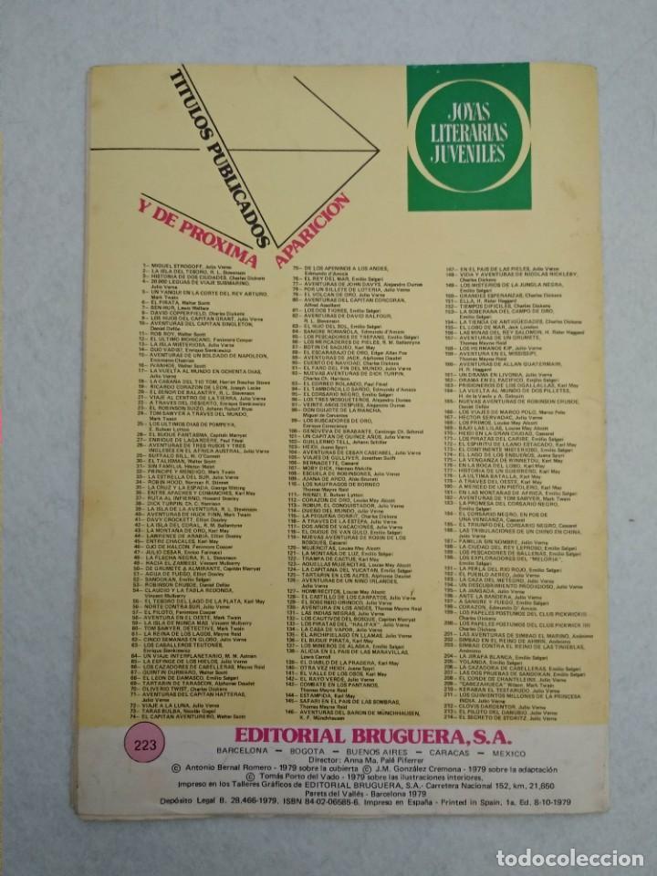 Tebeos: LOTE DE 14 JOYAS LITERARIAS JUVENILES TODOS DE EMILIO SALGARI - VER TODAS LAS FOTOS - Foto 5 - 190758951
