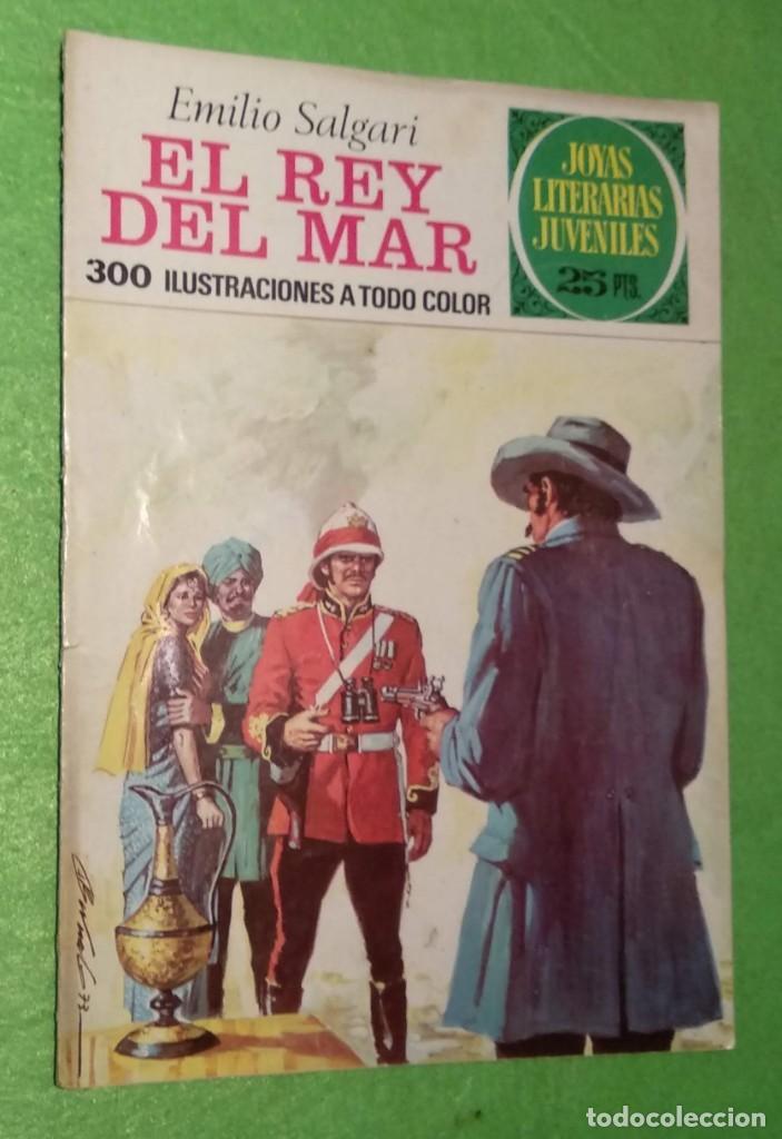 Tebeos: LOTE DE 14 JOYAS LITERARIAS JUVENILES TODOS DE EMILIO SALGARI - VER TODAS LAS FOTOS - Foto 28 - 190758951