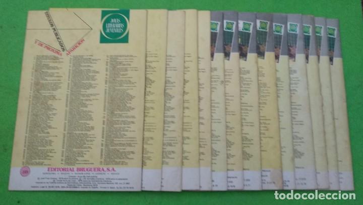 Tebeos: LOTE DE 14 JOYAS LITERARIAS JUVENILES TODOS DE EMILIO SALGARI - VER TODAS LAS FOTOS - Foto 30 - 190758951